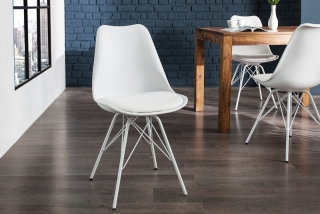 Stolička SCENER CHAIR RETRO WHITE